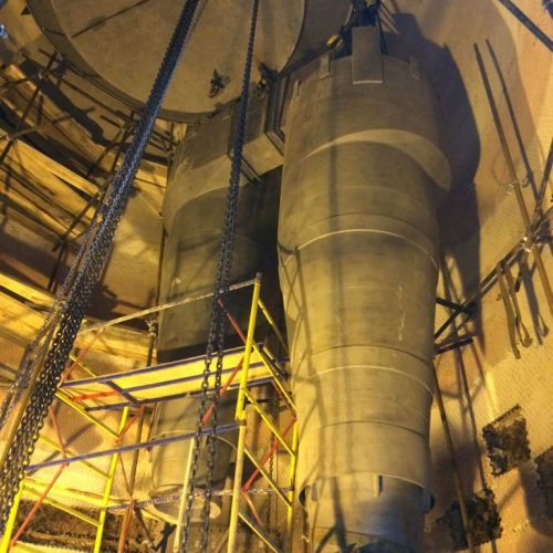 Cyclones of FCCU Regenerator Р-102 supplied to TAIF-NK Gasoline Plant
