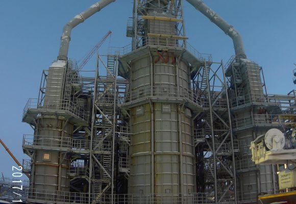 Установка стабилизации конденсата ачимовских залежей Надым-Пур-Тазовского региона.