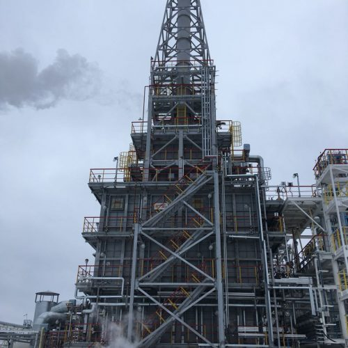 Печь П-2 установки ЭЛОУ-АВТ на Яйском НПЗ филиале АО «НефтеХимСервис»