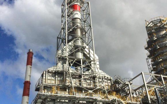 Печь 1102Н0402 с узлом утилизации тепла установки ЭЛОУ-АВТ-6 ПАО «Татнефть»