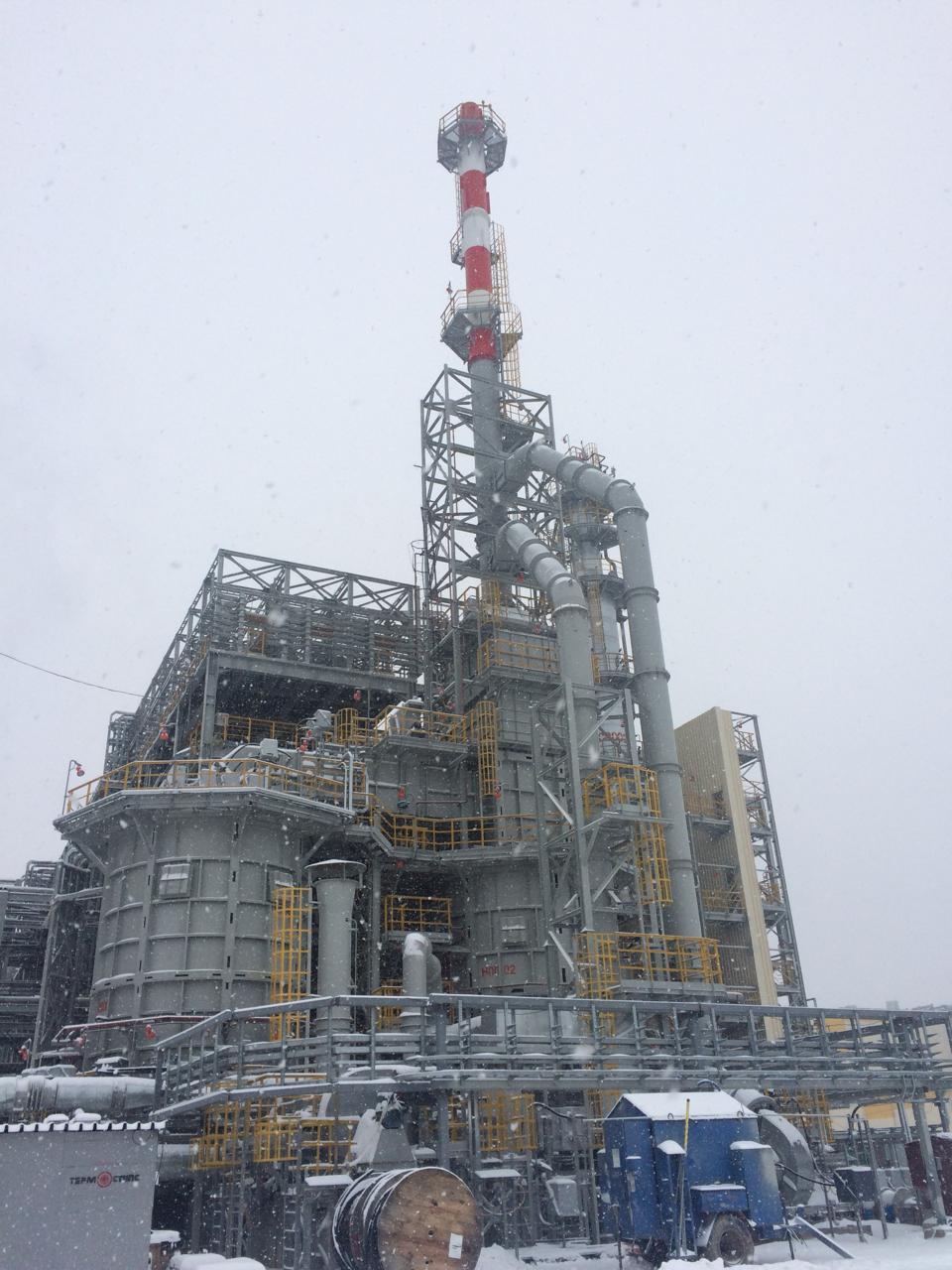 Пуск печей 1500Н0001и 1500Н0002 секции гидроочистки керосина ПАО «Татнефть»