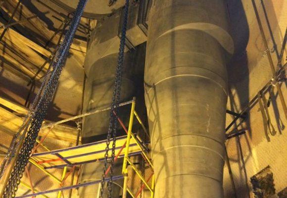 Поставка циклонов регенератора Р-102 установки каталитического крекинга Завода Бензинов ОАО «ТАИФ-НК».